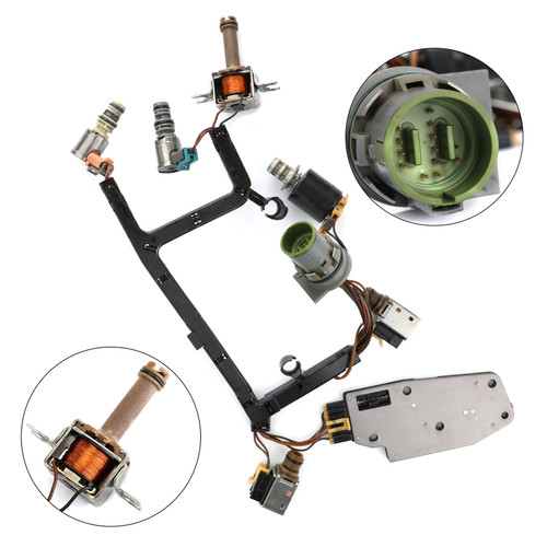 Transmission Solenoid Kit W/Harness Fits For GM Products with the 4L60E Model Automatic Transmission 93-02
