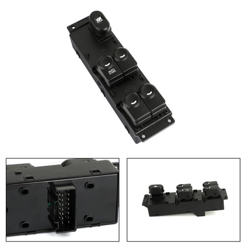 Power Main Window Switch Fits for Hyundai Accent Solaris 11-17 Black
