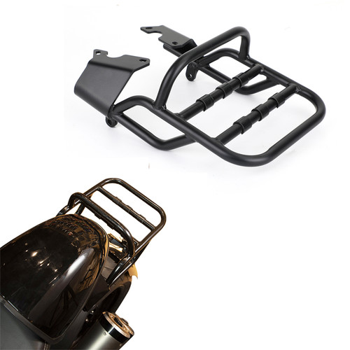 Rear Luggage Rack Black Support Cargo Carrier Shelf Fit for BMW R Nine T / R9T Scrambler/Urban G/S 14-20 Black