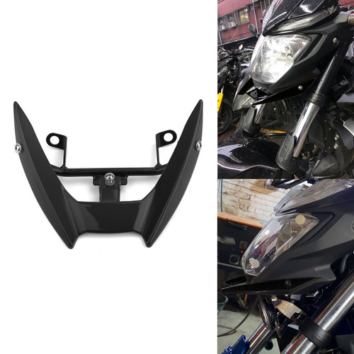 Upper Stay Bracket Front Headlight Trim Fit for Yamaha MT-03 15-19 Black