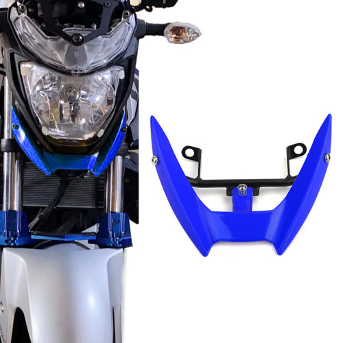 Upper Stay Bracket Front Headlight Trim Fit for Yamaha MT-03 15-19 Blue