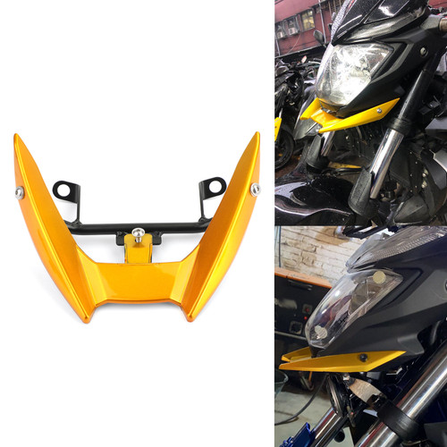 Upper Stay Bracket Front Headlight Trim Fit for Yamaha MT-03 15-19 Gold