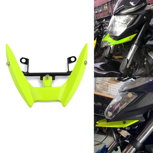 Upper Stay Bracket Front Headlight Trim Fit for Yamaha MT-03 15-19 Yellow