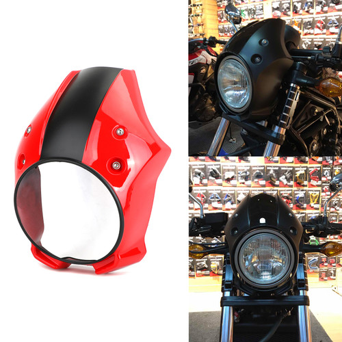 Headlight Cover Fairing Fit for Honda CMX500 Rebel 18-19 Red