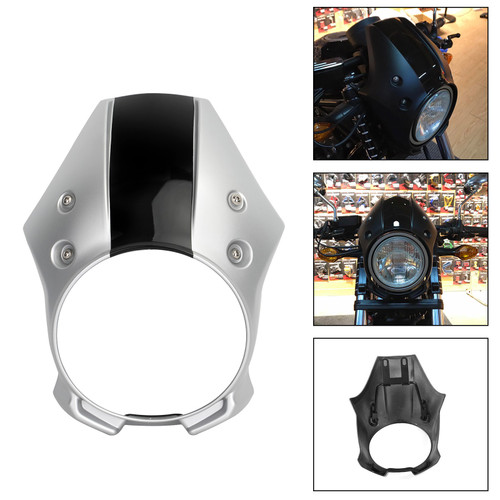 Headlight Cover Fairing Fit for Honda CMX500 Rebel 18-19 Sliver