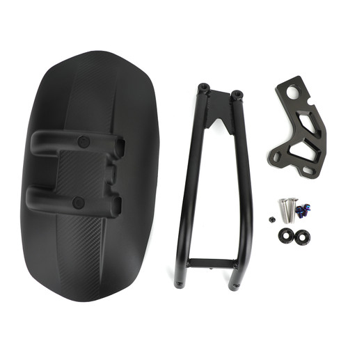 Rear Fender Mudguard Fit For Honda XADV 750 17-20 Black