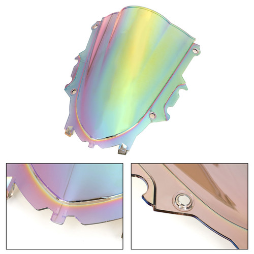 ABS Plastic Windshield Windscreen Fit For Yamaha YZF R3 19-20 WI