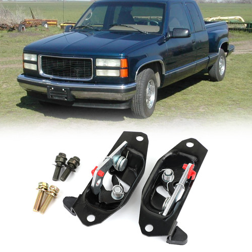 New Tailgate Latch Lock Set Fit For CADILLAC ESCALAD EXT CHEVROLET AVALANCHE 02-06 GMC SIERRA 1999 - 2007 Black