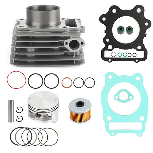 NEW Cylinder Piston Ring Gasket Top End Rebuild Kit Fit for Honda TRX 300 2x4 & 4x4 FW four-wheelers 88-20