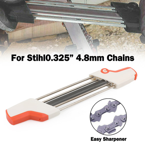 "Chainsaw Teeth Quick Sharpener File For STIHL .325"" 4.8mm Chain"