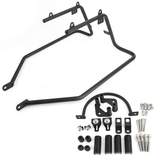 Saddlebag Conversion Brackets - Bagger Kit Fit for XL1200R Sportster 1200 Roadster 04-08 XL883L SuperLow 11-14