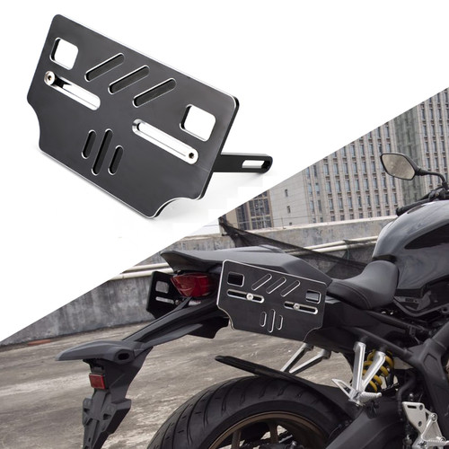 Saddle Bag Mounting Bracket Luggage Rack Side bag Holder Black Fit for Honda CBR650R CB650R 19-20