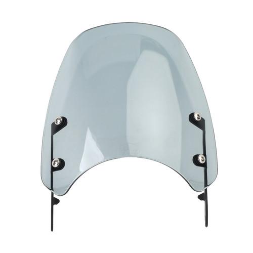 Windshield Fit for Triumph Bonneville 01-17 T100 03-17 Gray