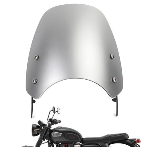 Windshield Fit for Triumph Bonneville 01-17 T100 03-17 Sliver