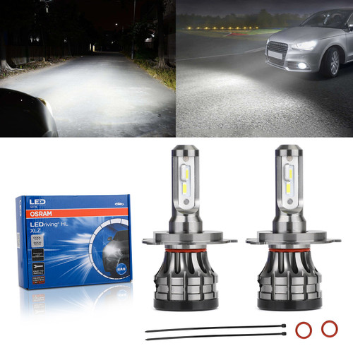 2Pcs For Osram Led H4 Xlz A6204CW 12V18W 6000K Cool White Auto Car Headlight