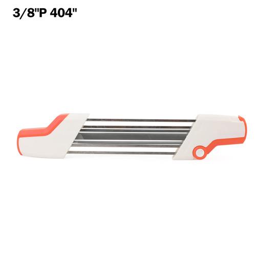 """7/32 5.5mm Chainsaw File Chain Sharpener Kits For Stihl 3/8""""P 404"""""""