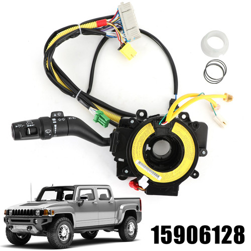 Air Bag Coil Turn Signal Switch For Chevrolet Colorado GMC Canyon Hummer H3