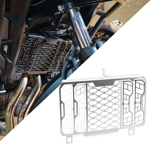Stainless Steel Radiator Guard Cover Fit For Honda CB500X 13-20 Sliver