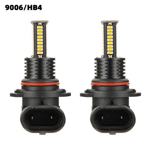 2PCS 9006/HB4 LED Headlight Driving Light Fog Light Lamp 3000K Yellow Bright