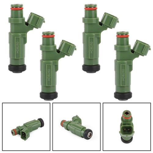 4PCS Fuel Injectors Fit For Mitsubishi Lancer 2.0L 04-07 Black HDB250 842-12357