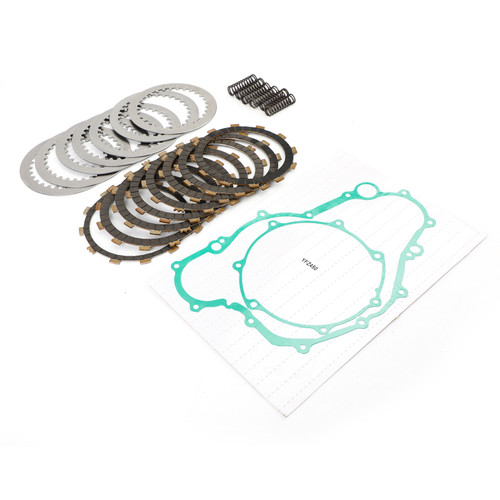 Clutch Friction Plates And Gasket Kit Fit for YAMAHA ATV YFZ450 04-05 SPECIAL EDITION 05-08