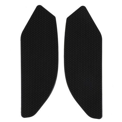 2x Side Tank Traction Grips Pads Fit for Suzuki GSXS1000 GSXS1000F 14-19 Black