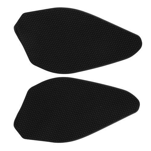 2x Side Tank Traction Grips Pads Fit for Yamaha YZF-R3 YZF R3 19-20 Black