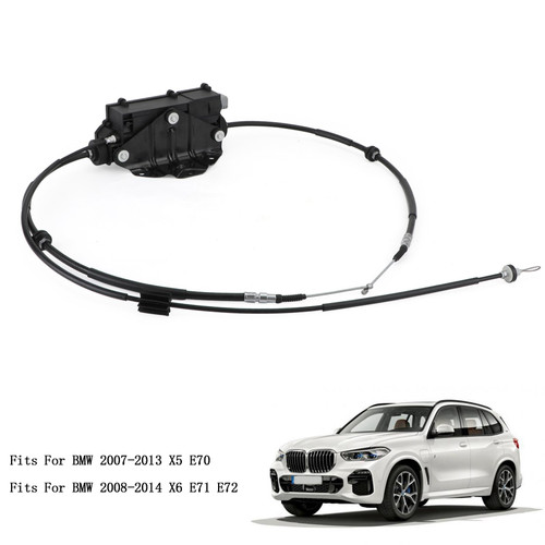 Parking Brake Actuator With Control Unit 34436850289 Fits For BMW X5 E70 07-13 BMW X6 E71 E72 08-14 Black