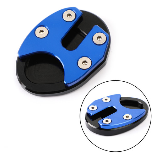 Kickstand Side Stand Extension Pad Fits For SYM MAXSYM TL500 2019-2020 Blue