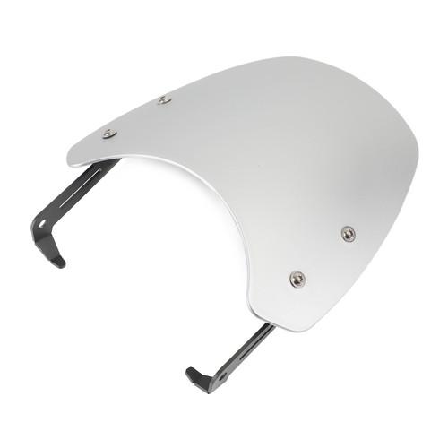 Windshield Fits For Triumph SCRAMBLER 1200 2019-2021 Silver