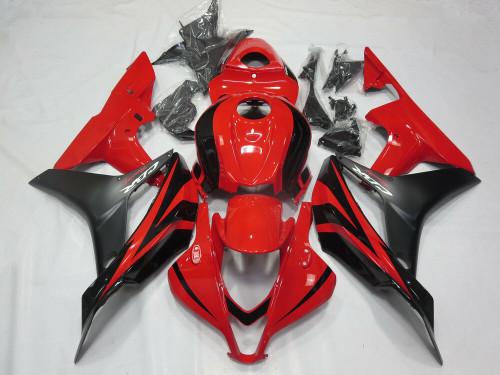 Fairing Kit Bodywork ABS fit for Honda CBR600RR 2007 2008 Red