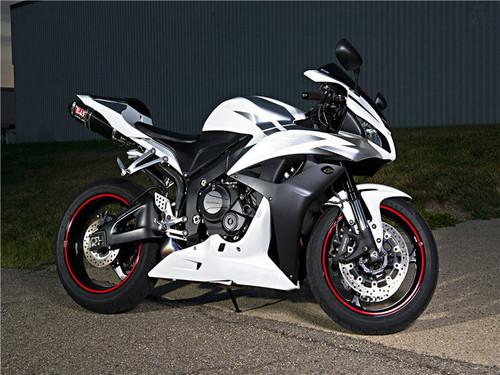 ABS Injection Mold Bodywork Fairing Kit For Honda CBR600RR 2007 2008 White Black