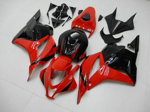 ABS Injection Mold Bodywork Full Fairing Kit For Honda CBR600RR 2007 2008