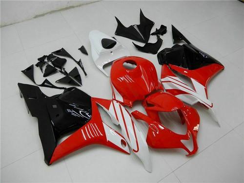 ABS Injection Mold Bodywork Full Fairing Kit For Honda CBR600RR 2009-2012 Red White