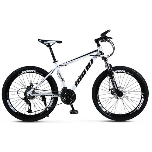 AUS Mountain Bike 26 inch Wheels 21 Speed Bicycle Disc Bicycles White+Black for Sale