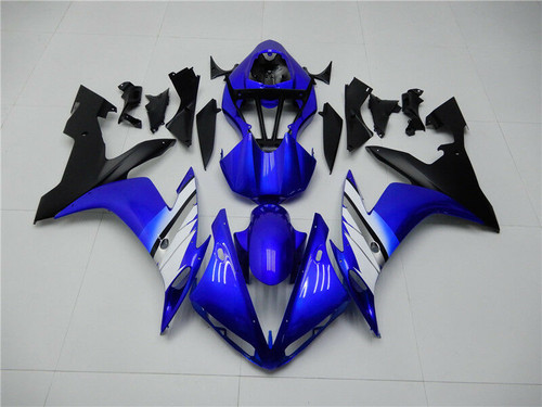 Blue Black Injection ABS Plastic Fairing Fit for Yamaha 2004-2006 YZF R1