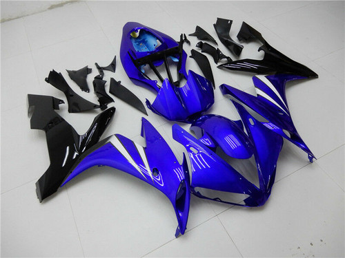 ABS Gloss Blue Injection Plastic Kit Fairing Fit Yamaha YZF R1 2004-2006