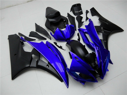 Fairing Injection Plastic Body Kit Fit For YAMAHA YZF-R6 2006 2007 Blue Black