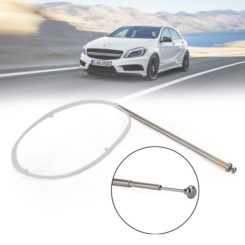 Power Antenna Mast OEM Replacement Fit For Mercedes-Benz W124 W126 W201 C107 R107 Chrome