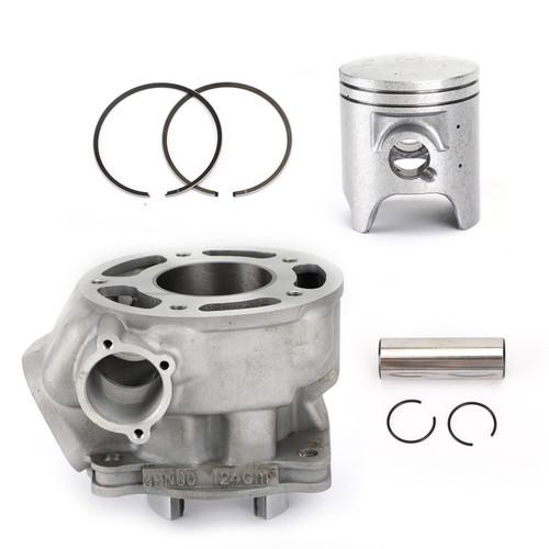 Cylinder Piston Kit 56.4mm Fit For Yamaha DT (R)125 TDR125 TZR125 1991-2006