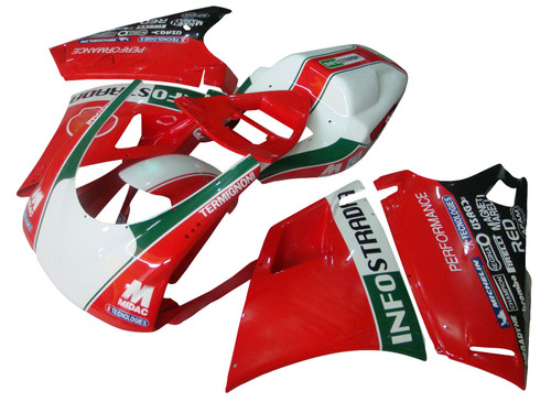 1996-2002 Ducati 996 748 Red Injection Body Cover Fairing Kits