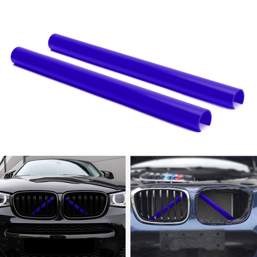 Support Grill Bar V Brace Wrap 51647245789 Fit For BMW F25 F26 Blue