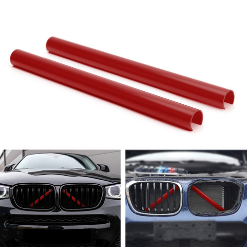 Support Grill Bar V Brace Wrap 51647245789 Fit For BMW F25 F26 Red
