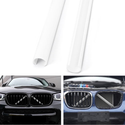 Support Grill Bar V Brace Wrap 51647245789 Fit For BMW F25 F26 White