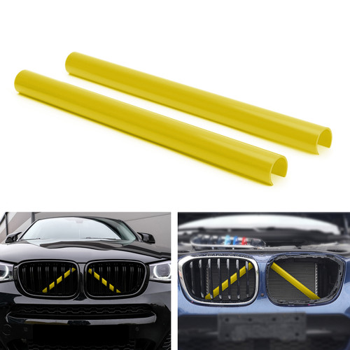 Support Grill Bar V Brace Wrap 51647245789 Fit For BMW F25 F26 Yellow