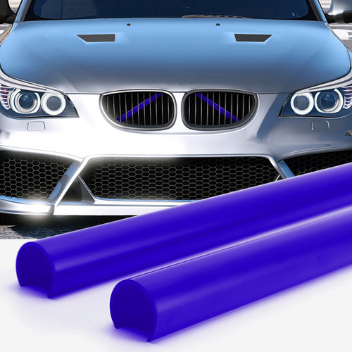 Support Grill Bar V Brace Wrap 51647245789 Fit For BMW E60 Blue