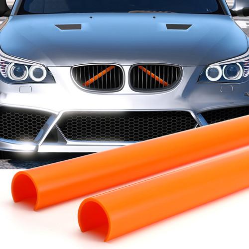 Support Grill Bar V Brace Wrap 51647245789 Fit For BMW E60 Orange