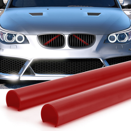 Support Grill Bar V Brace Wrap 51647245789 Fit For BMW E60 Red