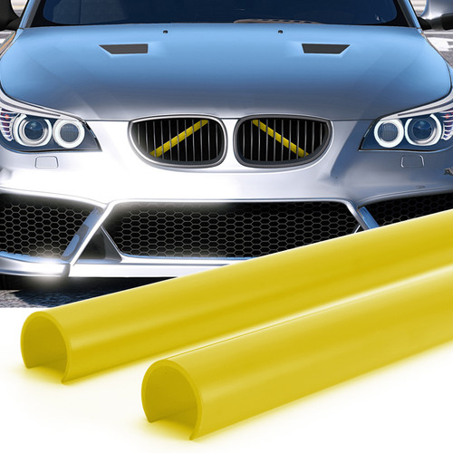 Support Grill Bar V Brace Wrap 51647245789 Fit For BMW E60 Yellow