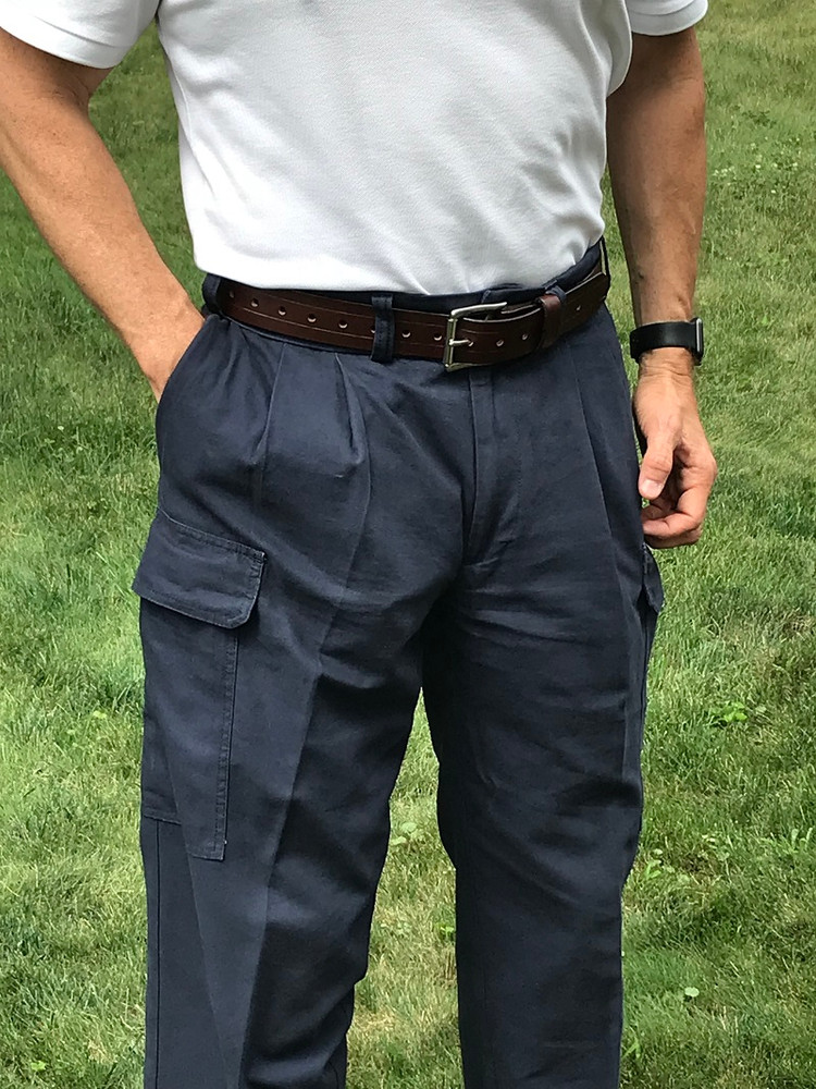 Dark Blue Concealed Carry Cargo Pants